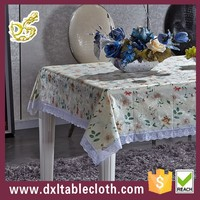 PVC handmade embroidery tablecloth ironing machine