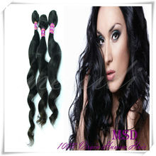 Factory wholesale price loose wave peruvian hair extension
