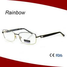 2015 gafas de moda la silueta de lentes ópticas de los precios de marco óptico