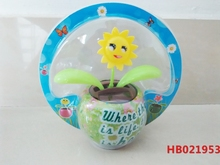 Import Solar Toys From China Solar Powered Swing Flip Flap Dancing Flowers, Car Decorative Gift Sun Doll Factory Wholesale