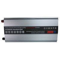 High frequency 3kw dc to ac power inverter with battery charger
