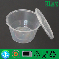 450ml Manufacturer Professional Supply Plastic Food Container /bpa free plastic food container