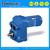 TF series parallel shaft helical Gearboxes