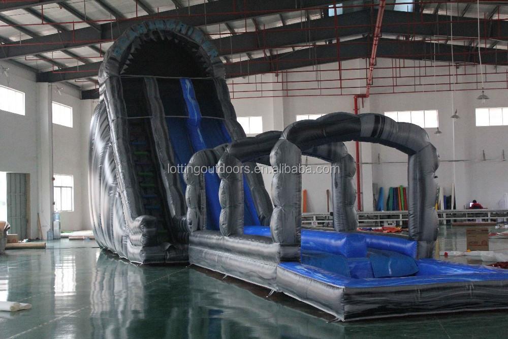 Супер надувные водные горки для детей и взрослых, гигантские надувные водные горки для продажи
