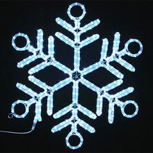 China factory selling cheap christmas gift iron shelf led rope lights christmas ornaments