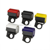 HC Electric Bell For Bicycle Plastic Beauty Design bicycle bells for sale Bike accessories Blue/Yellow/Black/Red/White