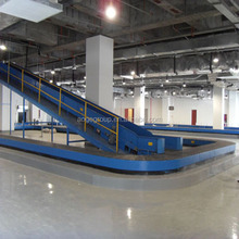 airport cargos baggage turntable handling system