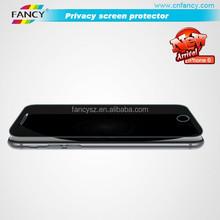 mobile anti-spy screen protector,privacy screen protector for Iphone6/6 plus screen protector