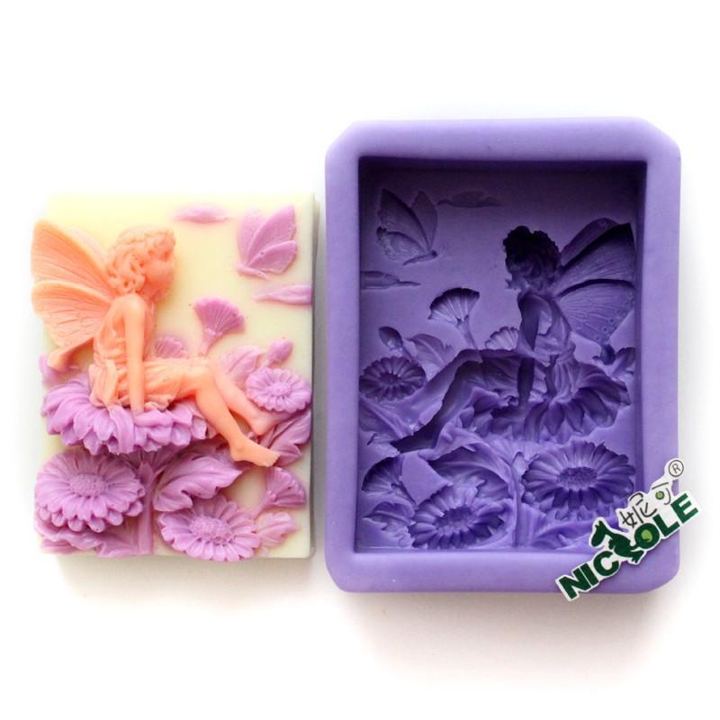 r0567 овальная силиконовая фея мыло плесень