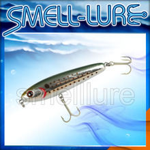 SMELL-LURE hard Fishing Lure Pencil 28g with smell on hook