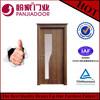 Turkey style interior PVC door PJ-15-60 with top crown