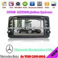 7'' reproductores de DVD del coche del dinar doble para Mercedes-Benz W209 con la radio Ipod PIP RDS Construido en el GPS y 3G e