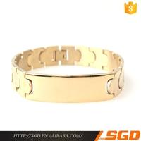 Hotselling High-End Handmade Fashion Style Man Custom Keith Richards Handcuff Bracelet
