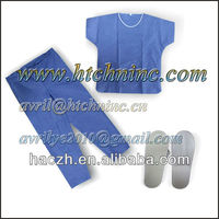 disposable slipper shirt and pants pack
