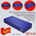 Nouveau raog passerelle voip gsm16-64 sk, inscription gratuite, 16 canaux 64 cartes sim gsm gateway.