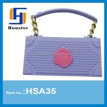 3D Fashion Handbag Silicone Soft Case for mobile phone