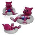 Animales de estilo de material de pvc para la venta, juguetes swiming usted puede importar de china