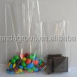 100x Clear Flat Cello/Cellophane Treat Bag 6x8 inch(1.2mil) Gift Basket Supplies