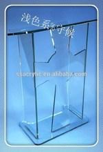 "clear acrylic podium <span class=""wholesale_product""></span> church acrylic podium/plexiglass dais / Acrylic school Lectern / ch"