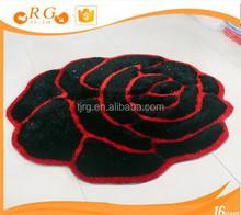removable hairy exhibition custom antislip hotel 3d mat