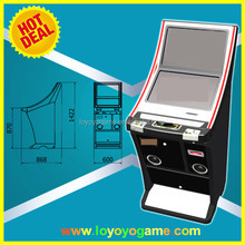 New Arrival double screen metal video slot cabinet