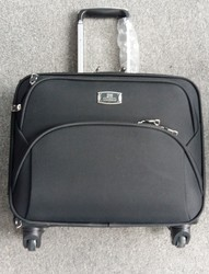 16inch Soft Waterproof Nylon Laptop Trolley Luggage