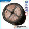 8.7/10KV XLPE insulated, PVC sheathed,fine steel wire armoured power cable