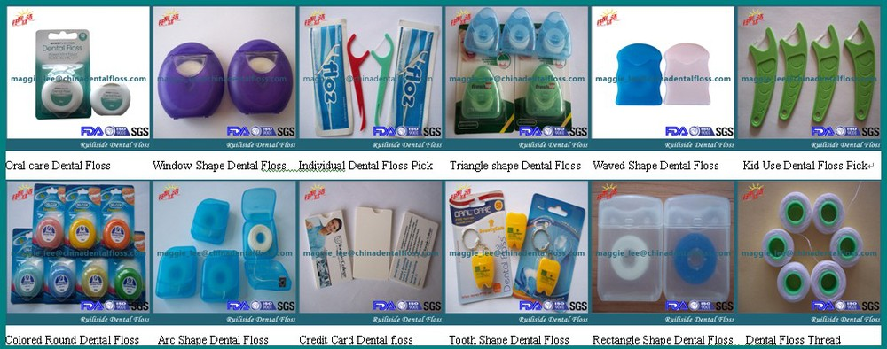 OEM dental floss holder, Nylon/UHMWPE Dental Floss Holder