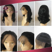 Heat Resistant Synthetic Hair Black Body Wave Lace wig for women