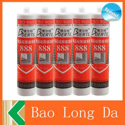 single conponent acetoxy and neutral structual adhesive silicone sealant used for glass