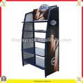 tienda de malla de alambre decorativo soporte de estante de petróleo de la pantalla