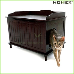 Delicacy catbox litter box enclosure/kitty furniture litter box hider/pet bed/HOMEX