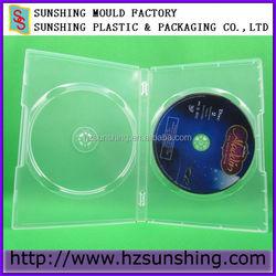 Best Selling Transparent DVD plastic cases