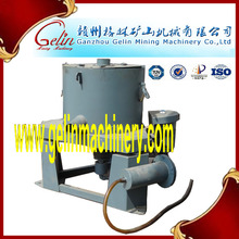 alluvial gold concentrator machine separting river gold