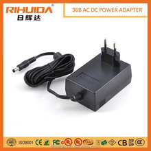 18V 2A &12V 3A Medical power adapter UL GS 60601 passed