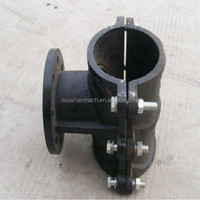 Reliable malleable iron pipe clamp fitting elephant tube iron casting