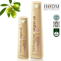 Natural argan essential oil contianed, shampoo plus wheat proteins in synergy to help repair & strengthen damaged hair