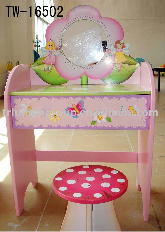 Kids Furniture Dressing Table And Stool Buy Kids Tables