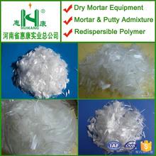 wall mortar and putty additive polypropylene staple fibre
