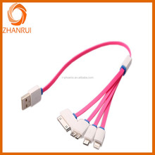 High quality 4 in 1 usb multi charger data cable for mobile phone