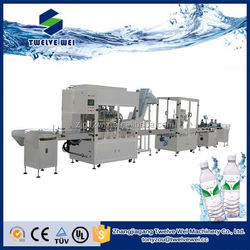 Convenient To Use Mineral Water Bottling Plant/Water Filling Line