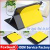 Two-tone Dual-color Design Smart Wake Sleep Stand Flip Leather Case for iPad Mini, For iPad Mini 2 3 4 Leather Case