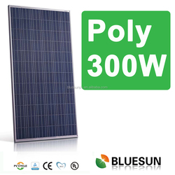 Bluesun high efficiency light weight poly 300w solar energy cost