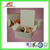Q1141 Wholesale White Food Paper Divider Cake Box With Inserts In China