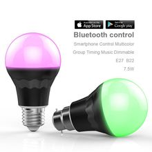 2015 hot product on market,low cost e27 rgb led bulb lighting control by SmartPhone