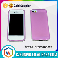 Wholesale price protective soft matte tpu case cover for iphone5