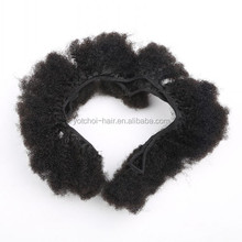 Top Quality Afro Kinky Curly Hair Weft Double Sealer No Shedding No Tangle Virgin Hair