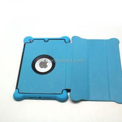 New Arrival PU Leather case for ipad mini ,cover for ipad mini 3,leather case
