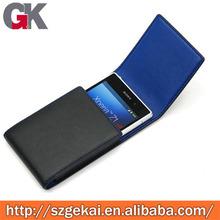 Fundas de cuero para teléfono celulares para Sony Xperia Z2