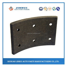 Dongfeng EQ1060 front wheel brake lining for trucks